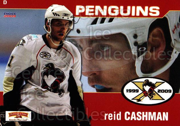2008-09 Wilkes-Barre Scranton Penguins #7 Reid Cashman<br/>7 In Stock - $3.00 each - <a href=https://centericecollectibles.foxycart.com/cart?name=2008-09%20Wilkes-Barre%20Scranton%20Penguins%20%237%20Reid%20Cashman...&quantity_max=7&price=$3.00&code=273071 class=foxycart> Buy it now! </a>