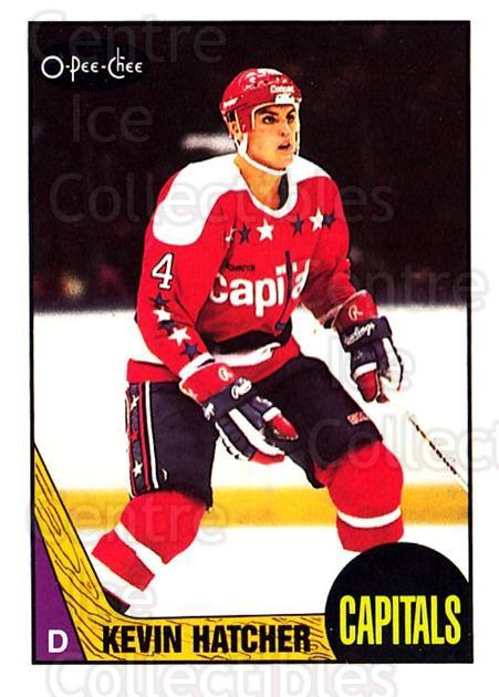 1987-88 O-Pee-Chee #68 Kevin Hatcher<br/>2 In Stock - $3.00 each - <a href=https://centericecollectibles.foxycart.com/cart?name=1987-88%20O-Pee-Chee%20%2368%20Kevin%20Hatcher...&quantity_max=2&price=$3.00&code=273182 class=foxycart> Buy it now! </a>