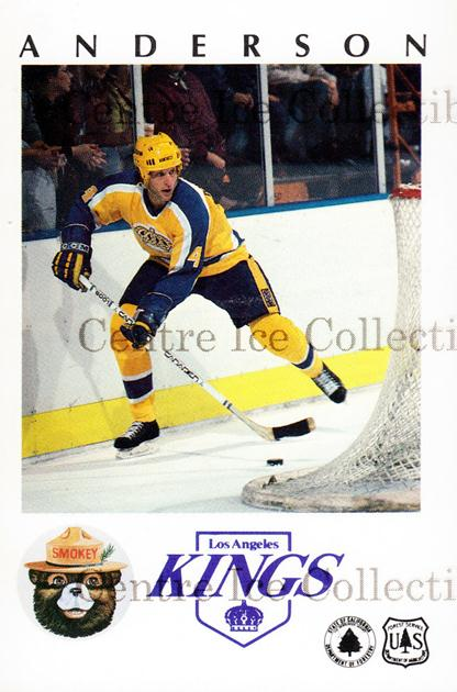 1984-85 Los Angeles Kings Smokey #5 Jim Fox<br/>5 In Stock - $3.00 each - <a href=https://centericecollectibles.foxycart.com/cart?name=1984-85%20Los%20Angeles%20Kings%20Smokey%20%235%20Jim%20Fox...&price=$3.00&code=27320 class=foxycart> Buy it now! </a>