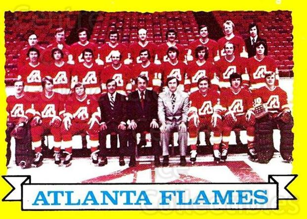 1973-74 Topps #92 Atlanta Flames<br/>1 In Stock - $3.00 each - <a href=https://centericecollectibles.foxycart.com/cart?name=1973-74%20Topps%20%2392%20Atlanta%20Flames...&quantity_max=1&price=$3.00&code=273279 class=foxycart> Buy it now! </a>