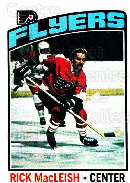 1976-77 Topps #121 Rick MacLeish<br/>6 In Stock - $1.00 each - <a href=https://centericecollectibles.foxycart.com/cart?name=1976-77%20Topps%20%23121%20Rick%20MacLeish...&price=$1.00&code=273531 class=foxycart> Buy it now! </a>