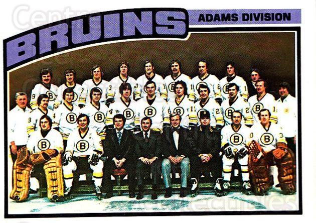 1976-77 Topps #133 Boston Bruins, Checklist<br/>1 In Stock - $3.00 each - <a href=https://centericecollectibles.foxycart.com/cart?name=1976-77%20Topps%20%23133%20Boston%20Bruins,%20...&quantity_max=1&price=$3.00&code=273543 class=foxycart> Buy it now! </a>