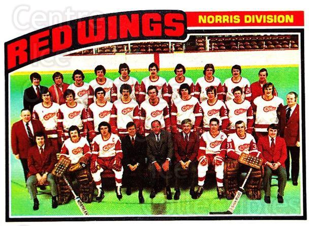 1976-77 Topps #137 Detroit Red Wings, Checklist<br/>4 In Stock - $3.00 each - <a href=https://centericecollectibles.foxycart.com/cart?name=1976-77%20Topps%20%23137%20Detroit%20Red%20Win...&quantity_max=4&price=$3.00&code=273547 class=foxycart> Buy it now! </a>