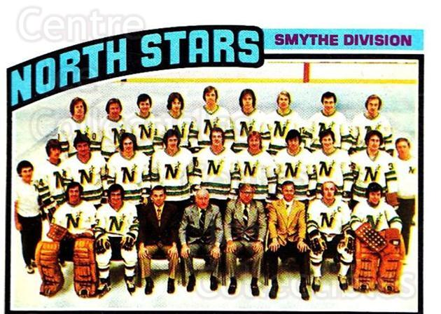 1976-77 Topps #140 Minnesota North Stars, Checklist<br/>6 In Stock - $3.00 each - <a href=https://centericecollectibles.foxycart.com/cart?name=1976-77%20Topps%20%23140%20Minnesota%20North...&quantity_max=6&price=$3.00&code=273550 class=foxycart> Buy it now! </a>