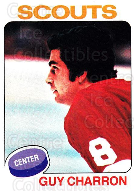 1975-76 Topps #32 Guy Charron<br/>1 In Stock - $1.00 each - <a href=https://centericecollectibles.foxycart.com/cart?name=1975-76%20Topps%20%2332%20Guy%20Charron...&quantity_max=1&price=$1.00&code=273706 class=foxycart> Buy it now! </a>