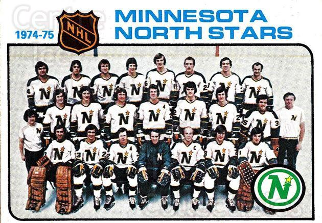 1975-76 Topps #89 Minnesota North Stars, Checklist<br/>2 In Stock - $2.00 each - <a href=https://centericecollectibles.foxycart.com/cart?name=1975-76%20Topps%20%2389%20Minnesota%20North...&quantity_max=2&price=$2.00&code=273763 class=foxycart> Buy it now! </a>
