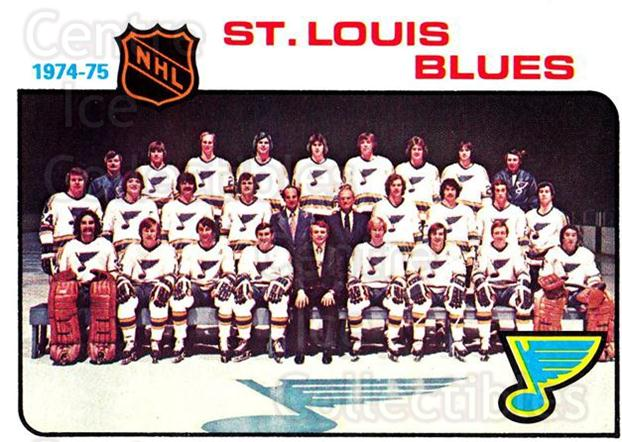 1975-76 Topps #96 St. Louis Blues, Checklist<br/>2 In Stock - $2.00 each - <a href=https://centericecollectibles.foxycart.com/cart?name=1975-76%20Topps%20%2396%20St.%20Louis%20Blues...&quantity_max=2&price=$2.00&code=273770 class=foxycart> Buy it now! </a>
