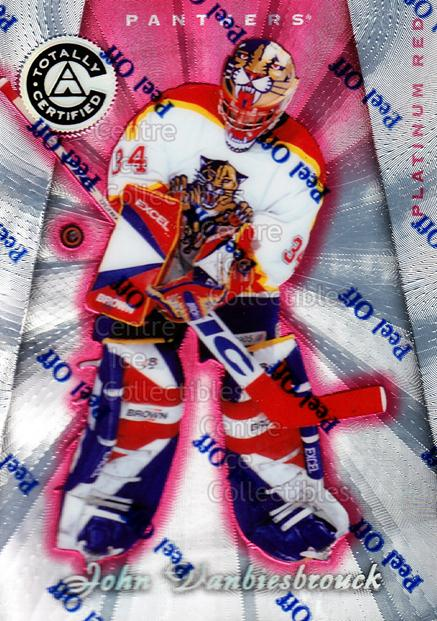 1997-98 Pinnacle Totally Certified Platinum Red #6 John Vanbiesbrouck<br/>2 In Stock - $3.00 each - <a href=https://centericecollectibles.foxycart.com/cart?name=1997-98%20Pinnacle%20Totally%20Certified%20Platinum%20Red%20%236%20John%20Vanbiesbro...&quantity_max=2&price=$3.00&code=274136 class=foxycart> Buy it now! </a>
