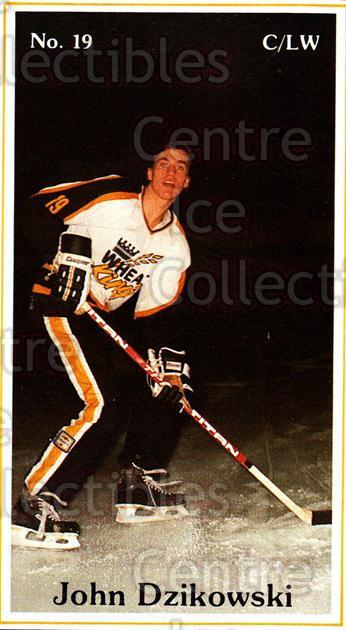 1983-84 Brandon Wheat Kings #4 John Dzikowski<br/>1 In Stock - $3.00 each - <a href=https://centericecollectibles.foxycart.com/cart?name=1983-84%20Brandon%20Wheat%20Kings%20%234%20John%20Dzikowski...&quantity_max=1&price=$3.00&code=27414 class=foxycart> Buy it now! </a>