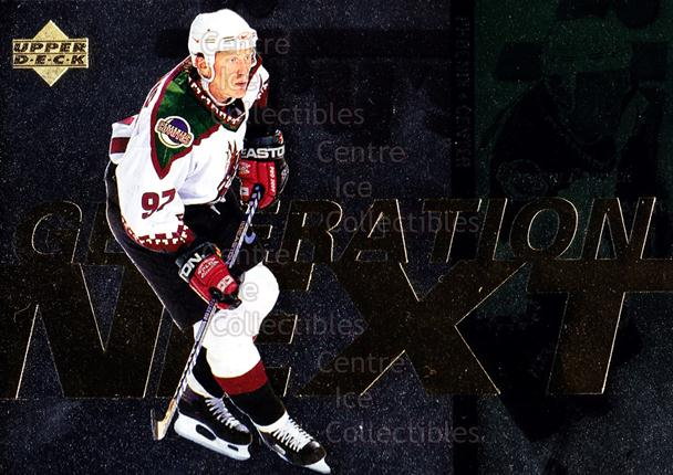1996-97 Upper Deck Generation Next #12 Jason Arnott, Jeremy Roenick<br/>1 In Stock - $2.00 each - <a href=https://centericecollectibles.foxycart.com/cart?name=1996-97%20Upper%20Deck%20Generation%20Next%20%2312%20Jason%20Arnott,%20J...&quantity_max=1&price=$2.00&code=274253 class=foxycart> Buy it now! </a>