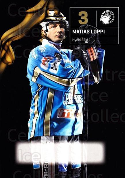 2010-11 Finnish Pelicans Postcards #1 Matias Loppi<br/>5 In Stock - $3.00 each - <a href=https://centericecollectibles.foxycart.com/cart?name=2010-11%20Finnish%20Pelicans%20Postcards%20%231%20Matias%20Loppi...&quantity_max=5&price=$3.00&code=274509 class=foxycart> Buy it now! </a>