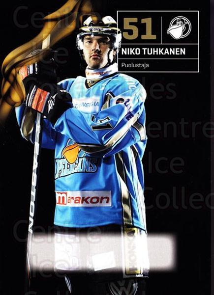 2010-11 Finnish Pelicans Postcards #19 Niko Tuhkanen<br/>4 In Stock - $3.00 each - <a href=https://centericecollectibles.foxycart.com/cart?name=2010-11%20Finnish%20Pelicans%20Postcards%20%2319%20Niko%20Tuhkanen...&quantity_max=4&price=$3.00&code=274527 class=foxycart> Buy it now! </a>