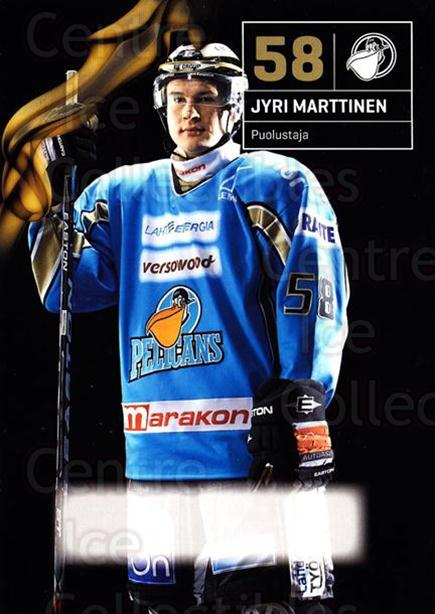 2010-11 Finnish Pelicans Postcards #22 Jyri Marttinen<br/>2 In Stock - $3.00 each - <a href=https://centericecollectibles.foxycart.com/cart?name=2010-11%20Finnish%20Pelicans%20Postcards%20%2322%20Jyri%20Marttinen...&quantity_max=2&price=$3.00&code=274530 class=foxycart> Buy it now! </a>