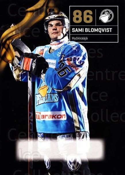2010-11 Finnish Pelicans Postcards #24 Sami Blomqvist<br/>5 In Stock - $3.00 each - <a href=https://centericecollectibles.foxycart.com/cart?name=2010-11%20Finnish%20Pelicans%20Postcards%20%2324%20Sami%20Blomqvist...&quantity_max=5&price=$3.00&code=274532 class=foxycart> Buy it now! </a>