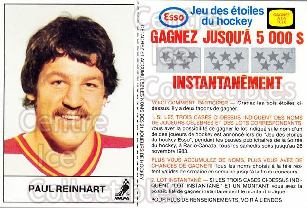 1983-84 Esso French #15 Paul Reinhart<br/>4 In Stock - $3.00 each - <a href=https://centericecollectibles.foxycart.com/cart?name=1983-84%20Esso%20French%20%2315%20Paul%20Reinhart...&quantity_max=4&price=$3.00&code=27457 class=foxycart> Buy it now! </a>