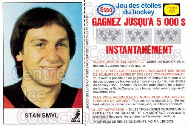 1983-84 Esso French #17 Stan Smyl<br/>2 In Stock - $3.00 each - <a href=https://centericecollectibles.foxycart.com/cart?name=1983-84%20Esso%20French%20%2317%20Stan%20Smyl...&quantity_max=2&price=$3.00&code=27458 class=foxycart> Buy it now! </a>