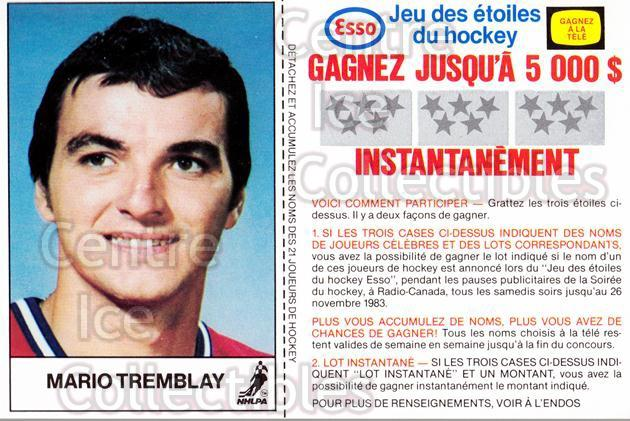 1983-84 Esso French #20 Mario Tremblay<br/>2 In Stock - $3.00 each - <a href=https://centericecollectibles.foxycart.com/cart?name=1983-84%20Esso%20French%20%2320%20Mario%20Tremblay...&quantity_max=2&price=$3.00&code=27462 class=foxycart> Buy it now! </a>