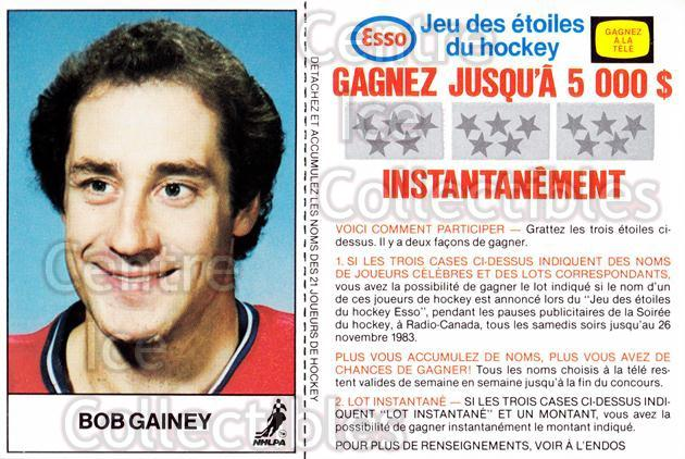 1983-84 Esso French #7 Bob Gainey<br/>2 In Stock - $3.00 each - <a href=https://centericecollectibles.foxycart.com/cart?name=1983-84%20Esso%20French%20%237%20Bob%20Gainey...&quantity_max=2&price=$3.00&code=27468 class=foxycart> Buy it now! </a>