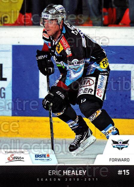 2010-11 Erste Bank Eishockey Liga EBEL #67 Eric Healey<br/>2 In Stock - $2.00 each - <a href=https://centericecollectibles.foxycart.com/cart?name=2010-11%20Erste%20Bank%20Eishockey%20Liga%20EBEL%20%2367%20Eric%20Healey...&quantity_max=2&price=$2.00&code=275106 class=foxycart> Buy it now! </a>