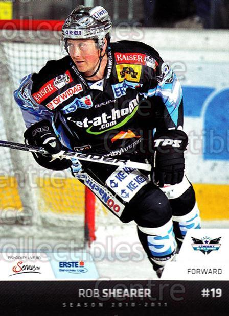 2010-11 Erste Bank Eishockey Liga EBEL #68 Rob Shearer<br/>3 In Stock - $2.00 each - <a href=https://centericecollectibles.foxycart.com/cart?name=2010-11%20Erste%20Bank%20Eishockey%20Liga%20EBEL%20%2368%20Rob%20Shearer...&quantity_max=3&price=$2.00&code=275107 class=foxycart> Buy it now! </a>