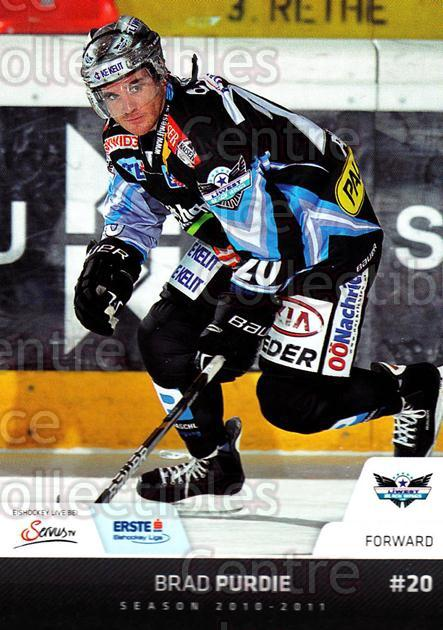 2010-11 Erste Bank Eishockey Liga EBEL #69 Brad Purdie<br/>5 In Stock - $2.00 each - <a href=https://centericecollectibles.foxycart.com/cart?name=2010-11%20Erste%20Bank%20Eishockey%20Liga%20EBEL%20%2369%20Brad%20Purdie...&quantity_max=5&price=$2.00&code=275108 class=foxycart> Buy it now! </a>
