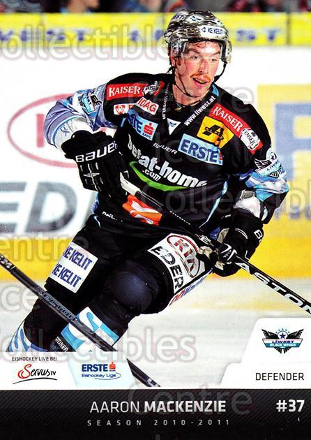 2010-11 Erste Bank Eishockey Liga EBEL #71 Aaron MacKenzie<br/>3 In Stock - $2.00 each - <a href=https://centericecollectibles.foxycart.com/cart?name=2010-11%20Erste%20Bank%20Eishockey%20Liga%20EBEL%20%2371%20Aaron%20MacKenzie...&quantity_max=3&price=$2.00&code=275110 class=foxycart> Buy it now! </a>