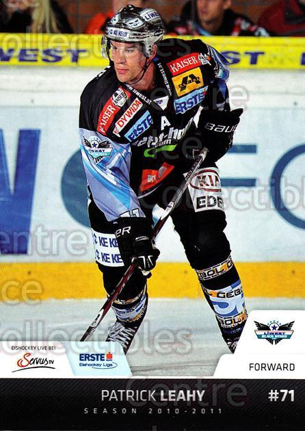 2010-11 Erste Bank Eishockey Liga EBEL #76 Patrick Leahy<br/>5 In Stock - $2.00 each - <a href=https://centericecollectibles.foxycart.com/cart?name=2010-11%20Erste%20Bank%20Eishockey%20Liga%20EBEL%20%2376%20Patrick%20Leahy...&quantity_max=5&price=$2.00&code=275115 class=foxycart> Buy it now! </a>