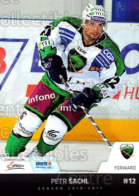 2010-11 Erste Bank Eishockey Liga EBEL #86 Petr Sachl<br/>1 In Stock - $2.00 each - <a href=https://centericecollectibles.foxycart.com/cart?name=2010-11%20Erste%20Bank%20Eishockey%20Liga%20EBEL%20%2386%20Petr%20Sachl...&quantity_max=1&price=$2.00&code=275125 class=foxycart> Buy it now! </a>
