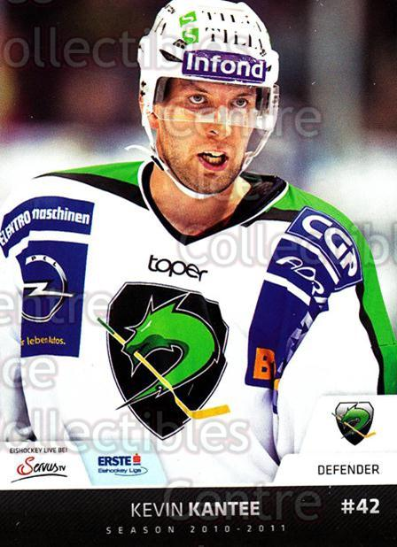 2010-11 Erste Bank Eishockey Liga EBEL #96 Kevin Kantee<br/>3 In Stock - $2.00 each - <a href=https://centericecollectibles.foxycart.com/cart?name=2010-11%20Erste%20Bank%20Eishockey%20Liga%20EBEL%20%2396%20Kevin%20Kantee...&quantity_max=3&price=$2.00&code=275135 class=foxycart> Buy it now! </a>