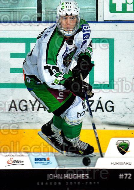 2010-11 Erste Bank Eishockey Liga EBEL #98 John Hughes<br/>4 In Stock - $2.00 each - <a href=https://centericecollectibles.foxycart.com/cart?name=2010-11%20Erste%20Bank%20Eishockey%20Liga%20EBEL%20%2398%20John%20Hughes...&quantity_max=4&price=$2.00&code=275137 class=foxycart> Buy it now! </a>