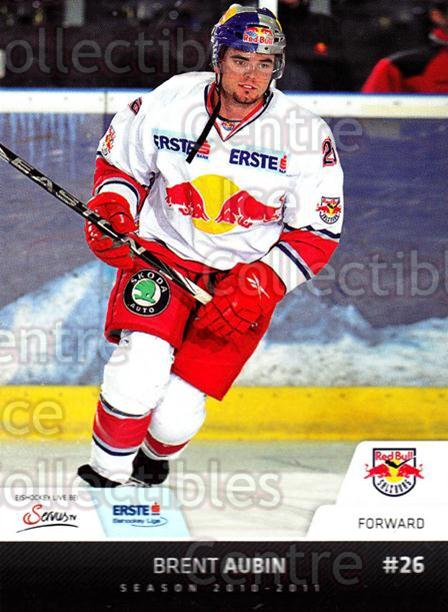 2010-11 Erste Bank Eishockey Liga EBEL #111 Brent Aubin<br/>3 In Stock - $2.00 each - <a href=https://centericecollectibles.foxycart.com/cart?name=2010-11%20Erste%20Bank%20Eishockey%20Liga%20EBEL%20%23111%20Brent%20Aubin...&quantity_max=3&price=$2.00&code=275150 class=foxycart> Buy it now! </a>