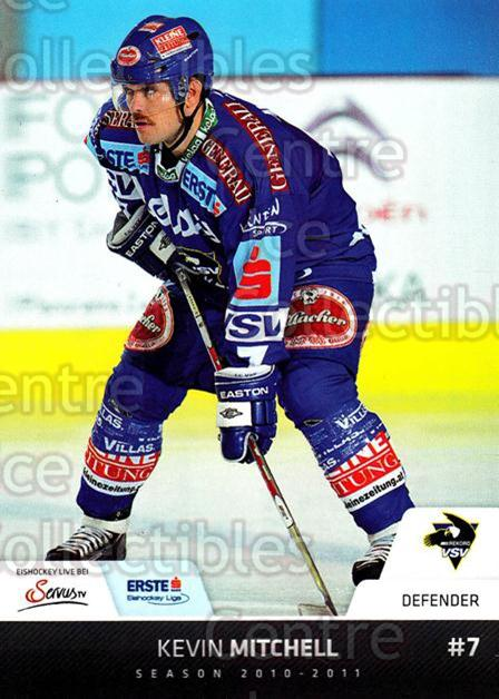 2010-11 Erste Bank Eishockey Liga EBEL #145 Kevin Mitchell<br/>1 In Stock - $2.00 each - <a href=https://centericecollectibles.foxycart.com/cart?name=2010-11%20Erste%20Bank%20Eishockey%20Liga%20EBEL%20%23145%20Kevin%20Mitchell...&quantity_max=1&price=$2.00&code=275184 class=foxycart> Buy it now! </a>