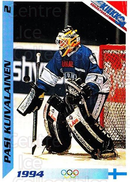1994 Finnish Jaa Kiekko #2 Pasi Kuivalainen<br/>2 In Stock - $2.00 each - <a href=https://centericecollectibles.foxycart.com/cart?name=1994%20Finnish%20Jaa%20Kiekko%20%232%20Pasi%20Kuivalaine...&quantity_max=2&price=$2.00&code=2751 class=foxycart> Buy it now! </a>