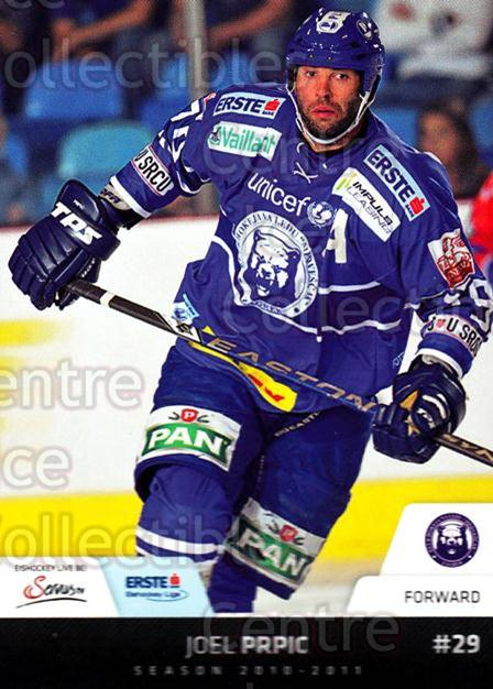 2010-11 Erste Bank Eishockey Liga EBEL #195 Joel Prpic<br/>2 In Stock - $2.00 each - <a href=https://centericecollectibles.foxycart.com/cart?name=2010-11%20Erste%20Bank%20Eishockey%20Liga%20EBEL%20%23195%20Joel%20Prpic...&quantity_max=2&price=$2.00&code=275234 class=foxycart> Buy it now! </a>