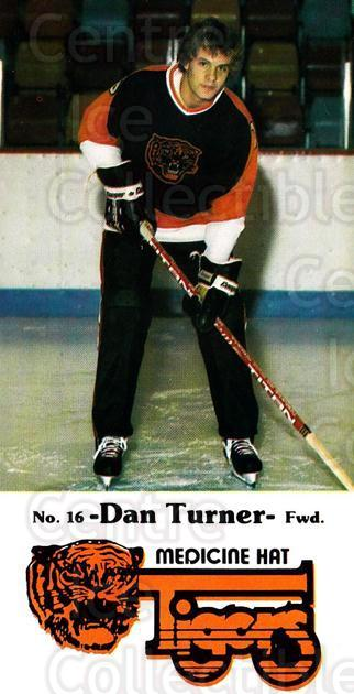 1983-84 Medicine Hat Tigers #11 Dan Turner<br/>1 In Stock - $3.00 each - <a href=https://centericecollectibles.foxycart.com/cart?name=1983-84%20Medicine%20Hat%20Tigers%20%2311%20Dan%20Turner...&quantity_max=1&price=$3.00&code=27546 class=foxycart> Buy it now! </a>