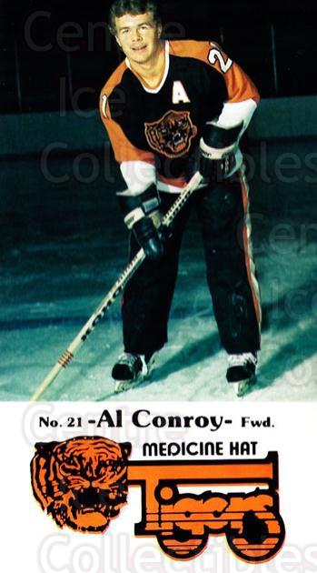 1983-84 Medicine Hat Tigers #23 Al Conroy<br/>2 In Stock - $3.00 each - <a href=https://centericecollectibles.foxycart.com/cart?name=1983-84%20Medicine%20Hat%20Tigers%20%2323%20Al%20Conroy...&quantity_max=2&price=$3.00&code=27559 class=foxycart> Buy it now! </a>