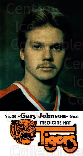1983-84 Medicine Hat Tigers #4 Gary Johnson<br/>1 In Stock - $3.00 each - <a href=https://centericecollectibles.foxycart.com/cart?name=1983-84%20Medicine%20Hat%20Tigers%20%234%20Gary%20Johnson...&quantity_max=1&price=$3.00&code=27561 class=foxycart> Buy it now! </a>