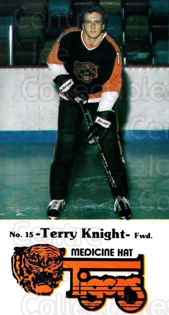 1983-84 Medicine Hat Tigers #7 Terry Knight<br/>2 In Stock - $3.00 each - <a href=https://centericecollectibles.foxycart.com/cart?name=1983-84%20Medicine%20Hat%20Tigers%20%237%20Terry%20Knight...&quantity_max=2&price=$3.00&code=27564 class=foxycart> Buy it now! </a>