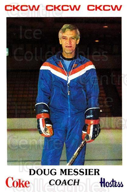 1983-84 Moncton Alpines #1 Doug Messier<br/>9 In Stock - $3.00 each - <a href=https://centericecollectibles.foxycart.com/cart?name=1983-84%20Moncton%20Alpines%20%231%20Doug%20Messier...&quantity_max=9&price=$3.00&code=27567 class=foxycart> Buy it now! </a>