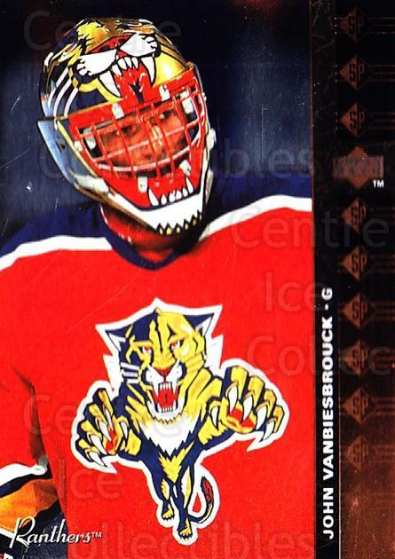1994-95 Upper Deck SP Inserts #31 John Vanbiesbrouck<br/>2 In Stock - $1.00 each - <a href=https://centericecollectibles.foxycart.com/cart?name=1994-95%20Upper%20Deck%20SP%20Inserts%20%2331%20John%20Vanbiesbro...&quantity_max=2&price=$1.00&code=275818 class=foxycart> Buy it now! </a>
