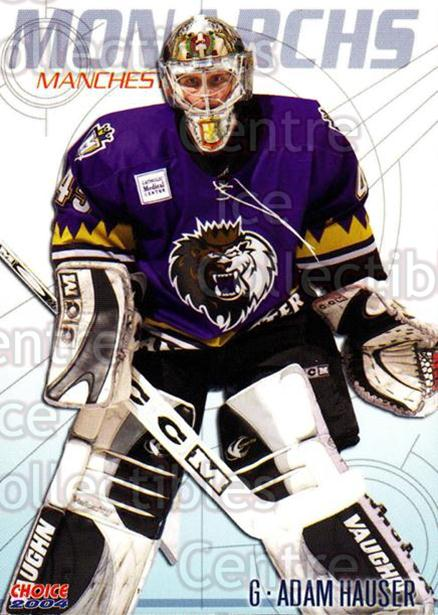 2003-04 Manchester Monarchs Choice #6 Adam Hauser<br/>8 In Stock - $3.00 each - <a href=https://centericecollectibles.foxycart.com/cart?name=2003-04%20Manchester%20Monarchs%20Choice%20%236%20Adam%20Hauser...&quantity_max=8&price=$3.00&code=275828 class=foxycart> Buy it now! </a>