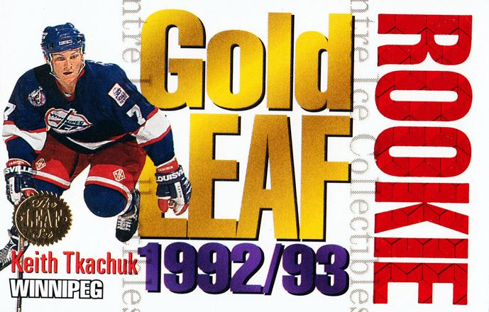 1993-94 Leaf Gold Leaf Rookies #11 Keith Tkachuk<br/>10 In Stock - $2.00 each - <a href=https://centericecollectibles.foxycart.com/cart?name=1993-94%20Leaf%20Gold%20Leaf%20Rookies%20%2311%20Keith%20Tkachuk...&quantity_max=10&price=$2.00&code=275988 class=foxycart> Buy it now! </a>