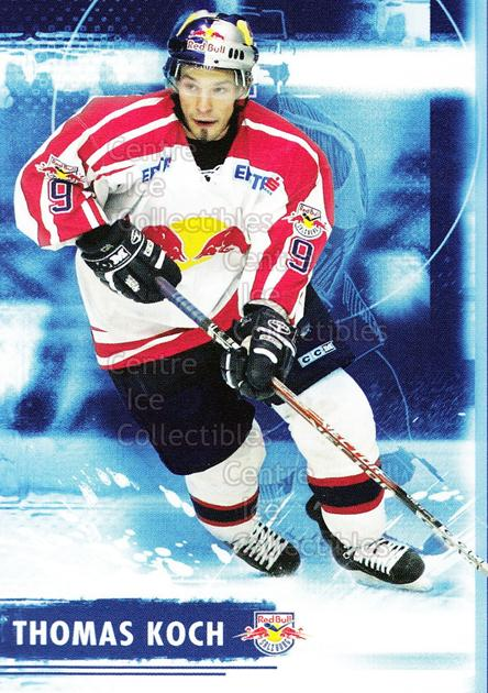 2006-07 Austrian EC Red Bull Salzburg #12 Thomas Koch<br/>2 In Stock - $3.00 each - <a href=https://centericecollectibles.foxycart.com/cart?name=2006-07%20Austrian%20EC%20Red%20Bull%20Salzburg%20%2312%20Thomas%20Koch...&quantity_max=2&price=$3.00&code=275994 class=foxycart> Buy it now! </a>