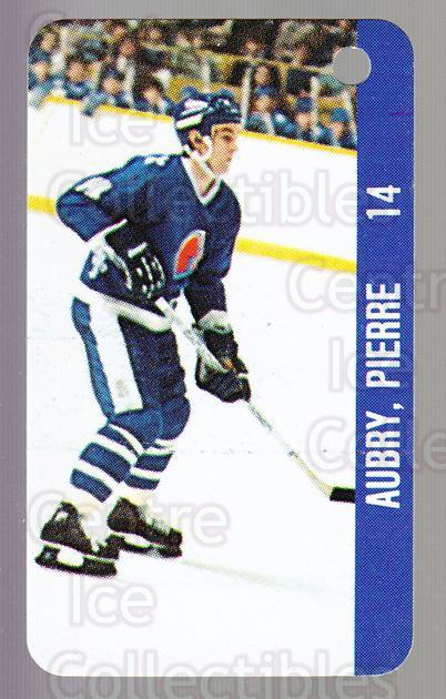 1983-84 NHL Key Tags #107 Real Cloutier, Pierre Aubry<br/>13 In Stock - $2.00 each - <a href=https://centericecollectibles.foxycart.com/cart?name=1983-84%20NHL%20Key%20Tags%20%23107%20Real%20Cloutier,%20...&quantity_max=13&price=$2.00&code=27600 class=foxycart> Buy it now! </a>