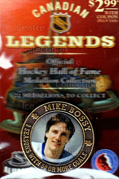 2004 Canadian Legends HHOF Medallion Collection #2 Mike Bossy<br/>3 In Stock - $5.00 each - <a href=https://centericecollectibles.foxycart.com/cart?name=2004%20Canadian%20Legends%20HHOF%20Medallion%20Collection%20%232%20Mike%20Bossy...&price=$5.00&code=276025 class=foxycart> Buy it now! </a>