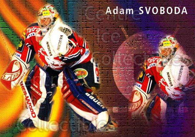 2003-04 Czech OFS Goals-Against Leaders #4 Adam Svoboda<br/>2 In Stock - $2.00 each - <a href=https://centericecollectibles.foxycart.com/cart?name=2003-04%20Czech%20OFS%20Goals-Against%20Leaders%20%234%20Adam%20Svoboda...&quantity_max=2&price=$2.00&code=276183 class=foxycart> Buy it now! </a>