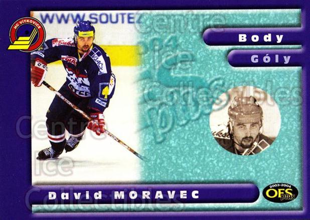 2003-04 Czech OFS Points Leaders #4 David Moravec<br/>1 In Stock - $2.00 each - <a href=https://centericecollectibles.foxycart.com/cart?name=2003-04%20Czech%20OFS%20Points%20Leaders%20%234%20David%20Moravec...&quantity_max=1&price=$2.00&code=276187 class=foxycart> Buy it now! </a>