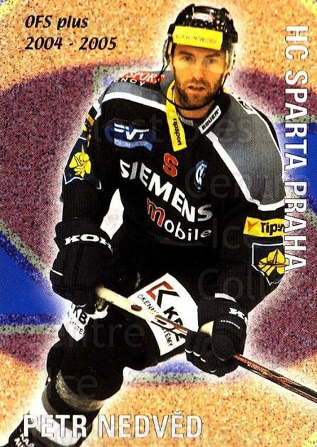 2004-05 Czech OFS Checklist Cards #9 Petr Nedved, Checklist<br/>2 In Stock - $2.00 each - <a href=https://centericecollectibles.foxycart.com/cart?name=2004-05%20Czech%20OFS%20Checklist%20Cards%20%239%20Petr%20Nedved,%20Ch...&quantity_max=2&price=$2.00&code=276193 class=foxycart> Buy it now! </a>
