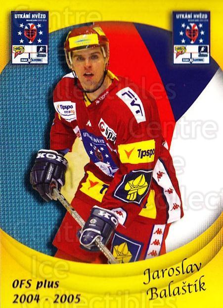 2004-05 Czech OFS Czech/Slovak AS Game #1 Jaroslav Balastik<br/>1 In Stock - $2.00 each - <a href=https://centericecollectibles.foxycart.com/cart?name=2004-05%20Czech%20OFS%20Czech/Slovak%20AS%20Game%20%231%20Jaroslav%20Balast...&quantity_max=1&price=$2.00&code=276194 class=foxycart> Buy it now! </a>