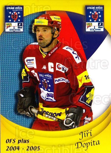 2004-05 Czech OFS Czech/Slovak AS Game #5 Jiri Dopita<br/>1 In Stock - $2.00 each - <a href=https://centericecollectibles.foxycart.com/cart?name=2004-05%20Czech%20OFS%20Czech/Slovak%20AS%20Game%20%235%20Jiri%20Dopita...&quantity_max=1&price=$2.00&code=276196 class=foxycart> Buy it now! </a>